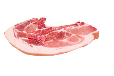 gentile:   Fresh pork,  piece of gentile meat, protein food