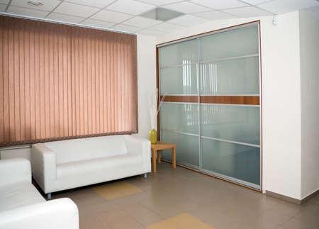 Interior.the modern design.Light wall Stock Photo - 2885415