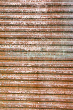 Corrugated Steel.Texture of metal plate. photo