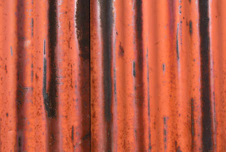 Rusted metal texture with border.Old metal texture