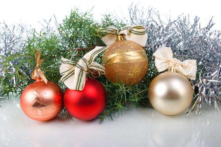 christmas tree decoration ,bright embellishment Stock Photo - 3580658