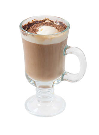 musetti: chocolate Coffee cocktail cup.