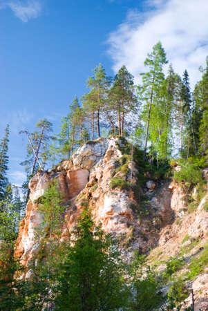 breakaway: mountain breakaway .north europe Stock Photo