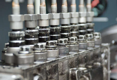 close up view of  mechanism.Shallow depth-of-field Stock Photo - 5722347