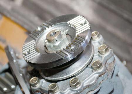 Set linked metal gears  automobile mechanism Stock Photo - 5746944