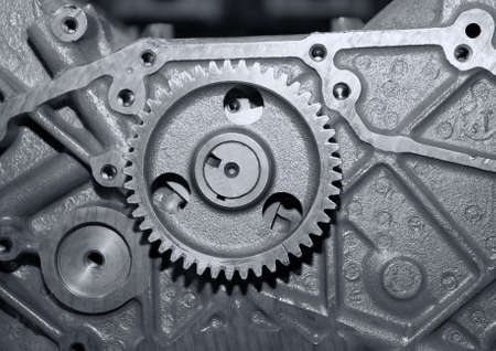 Part of a car engine.close up  mechanism Stock Photo - 5746941