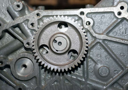 Part of a car engine.close up  mechanism Stock Photo - 5798966