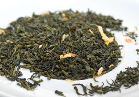 jessamine: jessamine green tea,in studio shoton white background