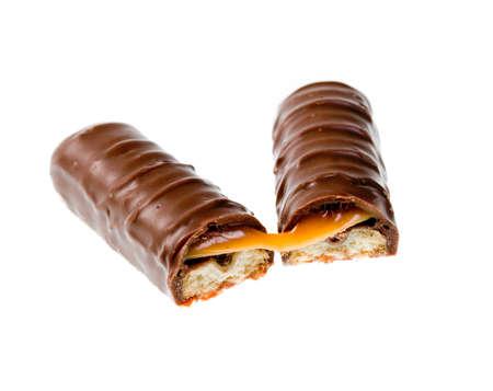 Stock Photo:Chocolate bar isolated on white background Stock Photo - 8303567