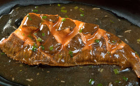 plaice: chinese cuisine .gold  plaice