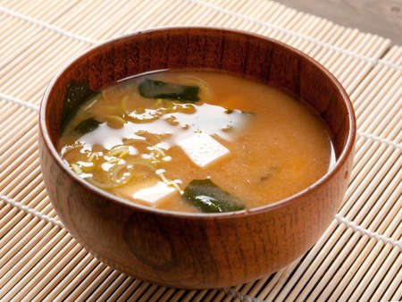 hashi: Miso soup , Japanese Food