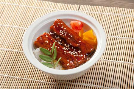 japanese food roast eel ( unagi .Japanese cuisine Stock Photo - 9852599
