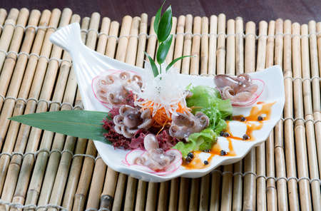 chinese cuisine .mixed seafood Chinese style Stock Photo - 11093757