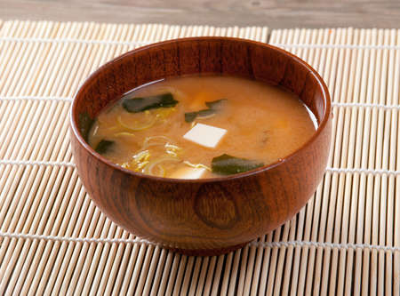 Miso soup , Japanese Food Stock fotó - 11239983