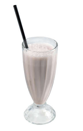 Milk shake.close up