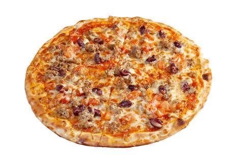 napoletana: Pizza napoletana. cucina italiana. Studio