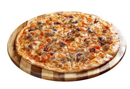 mincemeat: Pizza Neapolitan . italian kitchen. Studio