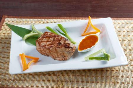 Japanese Kobe beef  Roast.Shallow depth-of-field.