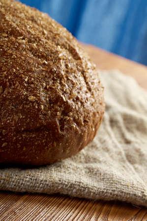 vitamines:  farmhouse bread .farm-style  country Stock Photo