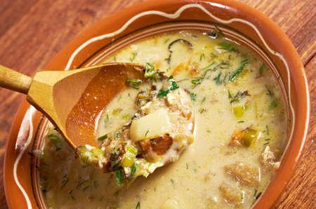Gentse Waterzooii - Belgian dish of stew