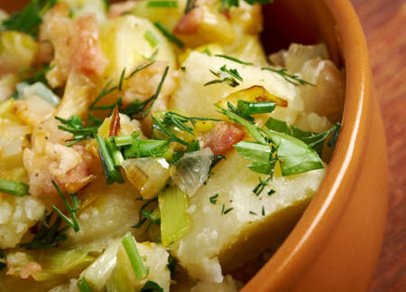 Kartoffelsalat - traditional German potato salad photo