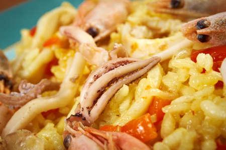 marisco: Spanish  seafood Paella de Marisco, Paella Marinera