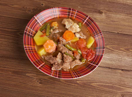Booyah stew  Wisconsin.traditional dish  Americas Dairyland.country cuisine photo