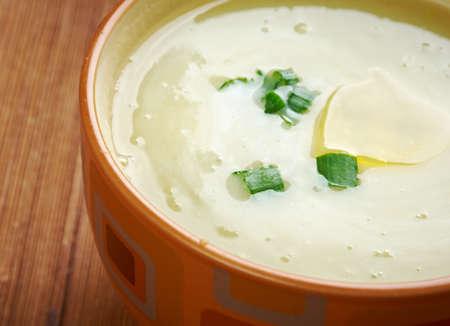 potage: Potage Parmentier  - French Leek and potato soup