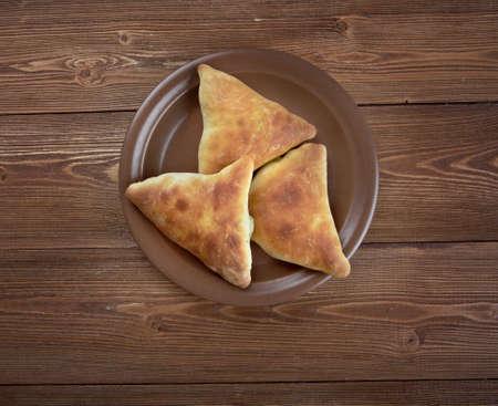 samosa: Samosa - Baked stuffed pastry