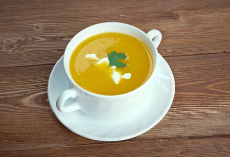 sopa: Sopa de calabaza - Butternut squash soup