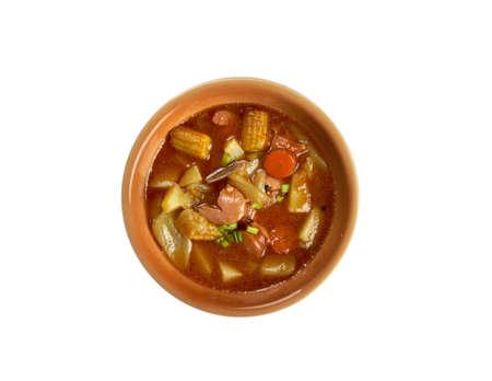 sopa: Sopa de Mondongo -  dish is from Latin America and the Caribbean.