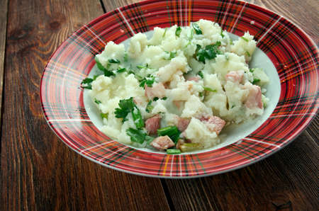 endive: Andijvie Stamppot - Traditional dutch dish stamppot with endive, mashed potatoes
