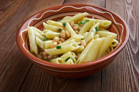 meatless: Pasta e fagioli -  traditional meatless Italian dish.