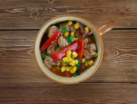 smoky: Smoky South of The Border Soup - Tex-Mex style soup