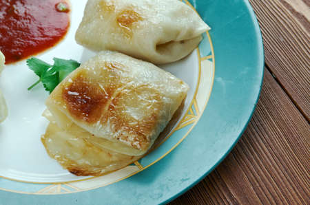 Kaldolmar - Swedish Cabbage Rolls .close up