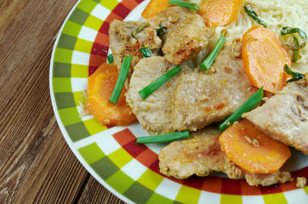 sichuan: Sichuan Orange Beef - Chinese food