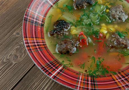 favorite soup: Mexican Meatball Soup - a Southwestern favorite