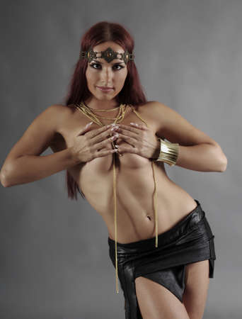warrior girl: Sexy wild woman  amazon  .young warrior woman