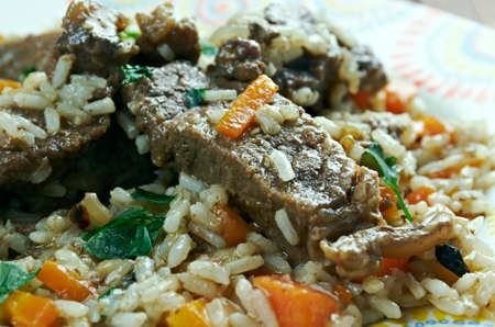 eminent: Mutton pulao -  eminent dish of not only Pakistan but of continent South Asia.