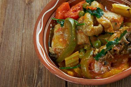 homestyle: Afritada Manok - Philippines Spanish homestyle dish