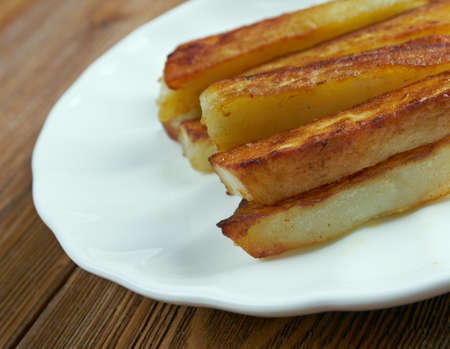 triple: Triple Cooked Chips - chips or deep-fried potato