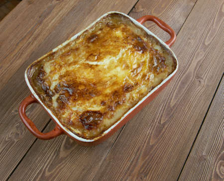 nova scotia: Rappie pie -  traditional meal from southwest Nova Scotia or Acadia.