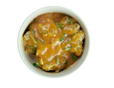 southeastern: Draw soup - soup popular in the southeastern region of Nigeria.