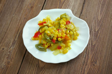 assaporare: Homemade condimento scatola in salamoia Corn