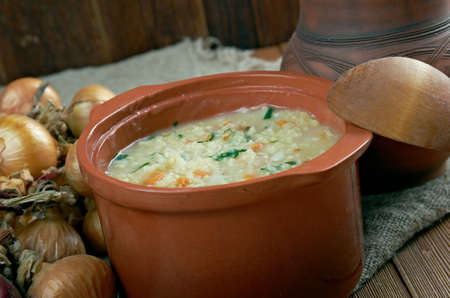 cossacks: Kulesch - Ukrainian porridge. made from lard, millet and vegetables.