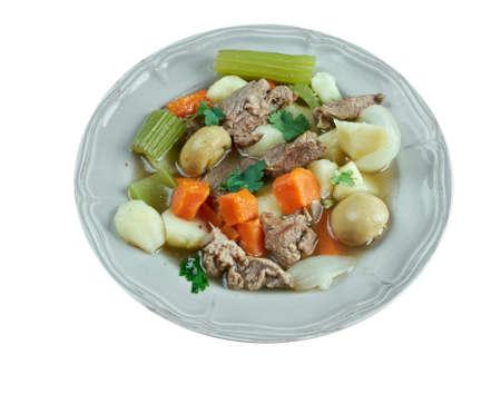 skirts: Skirts and kidneys - Irish stew made from pork and pork kidneys.
