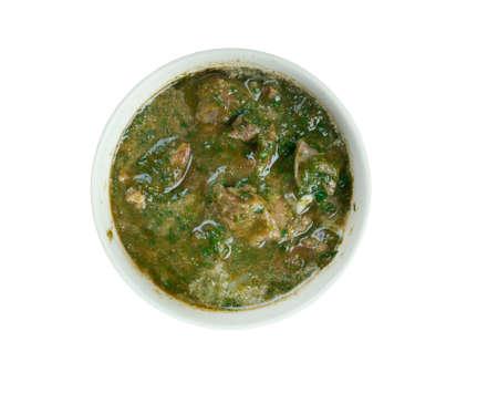 punjabi: Saag Gosht - Punjabi Beef and Spinach Curry