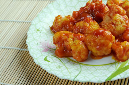 gobi: Gobi manchurian - Cauliflower. indian cuisine