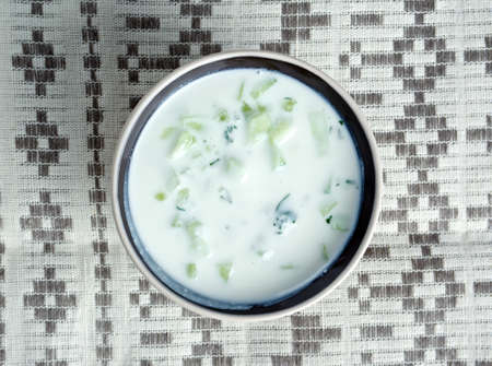 diluted: Cacık - Turkish dish of seasoned, strained or diluted yogurt