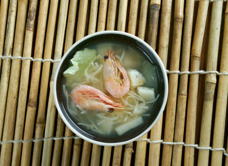 seafood soup: Cantonese seafood soup - seafood soup within Cantonese cuisine.  found in Hong Kong,